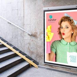 Candor Pulizie Brescia - Affissione